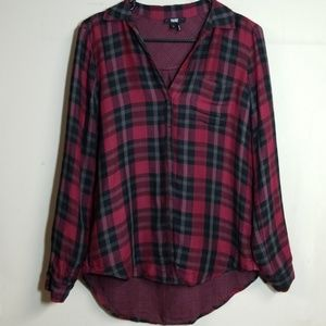 Paige Plaid Button Up Shirt